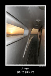 Sunset Mooring - Big Brother - Egypt. 10mm fisheye by Stew Smith