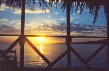 Jamaican sunrise by Rebecca Urban