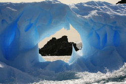 A map of Australia in the ice!!! Canon 350D by Andrew Macleod