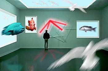 gallery munich lenbachvilla composing photoshop by Manfred Bail