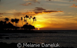 Happy 15 year anniversary, honey!! Sunset at the Fairmon... by Melanie Daneluk