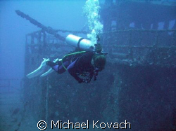 Barbara on the Spiegel Grove out of Key Largo by Michael Kovach