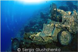 Tanks-wreck by Sergiy Glushchenko
