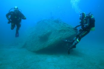 The wreck of  german KT 12 located in Sardinia (Italy): a... by Ugo Gaggeri