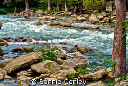 Guadalupe River, Hill Country Texas. by Bonnie Conley