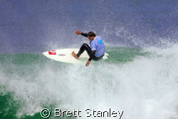 The Victorian round of the Billabong pro junior series at... by Brett Stanley