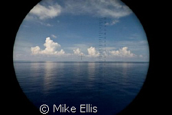 "Dead Calm in the ""Tong of the ocean"" Bahamas through a pa... by Mike Ellis"