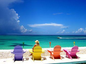Perfect view, Compass Point, Nassau, Bahamas by Leon Joubert