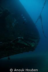 Cargo wreck off Dehiwala, Sri Lanka. by Anouk Houben