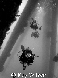 Under the Cruiseship Terminal by Kay Wilson