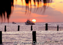 Cozumel Sunset-Shot with a Canon EOS Xti and 24-105 zoom ... by Steven Daniel