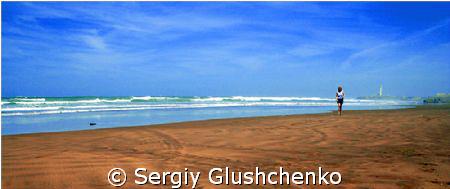 Atlantic ocean, Marocco by Sergiy Glushchenko