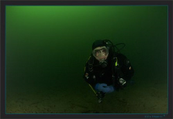 Green water picture, my friend Cedric by Sven Tramaux