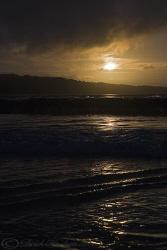 Hayle beach sunset. Cornwall. S5PRO, 18-200mm. by Derek Haslam