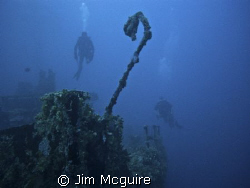 The bow of P-Buoy Kwajalein Atoll by Jim Mcguire