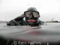 Taken in Lysekil Sweden just going under water by Eero Hällfors