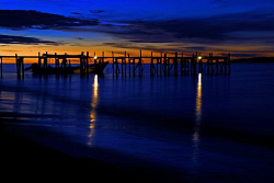 Sun Set at Kri Island by Tunc Yavuzdogan