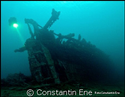 """Perfect divingday on the wreck """"Belgica"""", 14.02.2009. by Constantin Ene"""