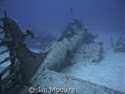 Douglas Dauntless Dive bomber Kwajalein Lagoon Roi Namur ... by Jim Mcguire