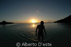 My friend in Palau by Alberto D'este