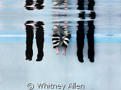 Unexpected as always. Not in the sea, but in the pool. Fo... by Whitney Allen