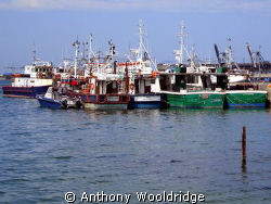Fishing boats,taken in the Port Elizabeth Harbour by Anthony Wooldridge