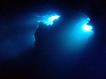 2004, april in cozumel / SONY DSCP10/Palancar Caves by Yannick Abel-Coindoz