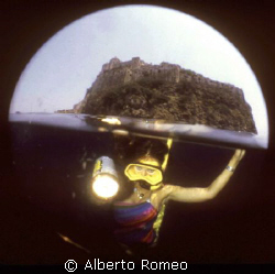 DIVING UNDER THE ISCHIA'S ISLAND CASTLE