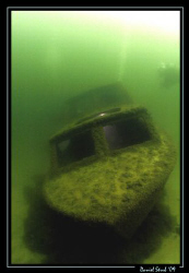 """We newly re-baptised this wreck """"la Barque aux Silures - ... by Daniel Strub"""