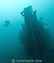 """The """"Belgica"""", a Ghost Ship which has been sleeping on th... by Constantin Ene"""