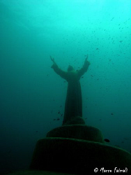 """The call of the Christ of the Abyss.  """"Il Cristo degli ... by Marco Faimali"""