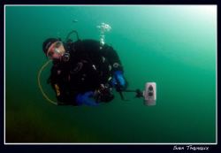 One more green water shot, our common friend Daniel. by Sven Tramaux