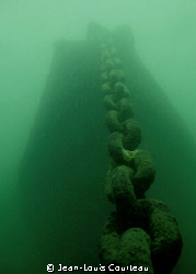 """""""Unchain My Heart"""" A small wreck in the St-Lawrence, cha... by Jean-Louis Courteau"""