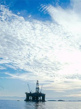 See the Platform ?, Petroleum this is what they are looki... by Francisco Nakahara
