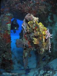 Evelio, Butler Bay Wrecks, St. Croix by Abimael Márquez