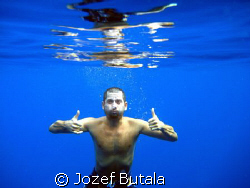 ...in the middle of the ocean by Jozef Butala