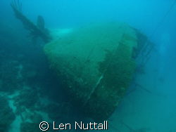 Wreck Helma Hooker.  Used only ambient light. by Len Nuttall