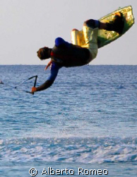 "MY SON WAKEBORDING "" BACKROLL"" by Alberto Romeo"