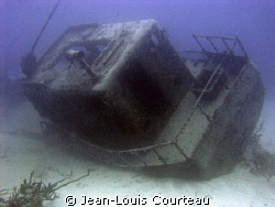 """Toy Boat""    A small wreck in the Jardines Del Rey, Cuba... by Jean-Louis Courteau"