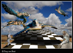 Chess III ; Victory round... by Dray Van Beeck