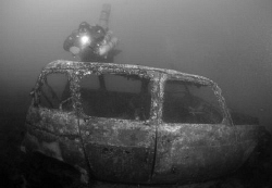 Diver at a Car Wreck (R4) by Andy Kutsch
