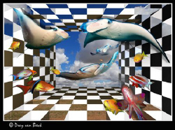 Chess V; The final frontier... by Dray Van Beeck