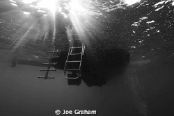 Taken whilst on my saftey stop on an early morning dive f... by Joe Graham