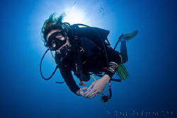 Ange.  Ningaloo Reef, Western Australia.  Canon 50D & Tok... by Ross Gudgeon