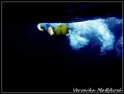 ..swimmer.. by Veronika Matějková