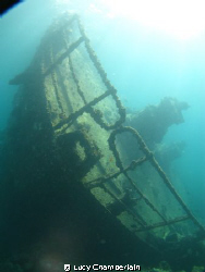 King Cruiser Wreck.  Eerie! by Lucy Chamberlain