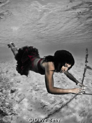Amazing underwatershooting with a caribbean model on cura... by Dave Benz