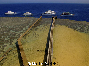 Daedalus reef is the most remote dive site in all of Egyp... by Marko Perisic