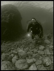 My friend Moyett in Culebra, PR. by Juan Torres
