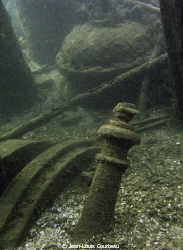 """""""Forgotten""""    A crumbling wreck slowly dissapears... by Jean-Louis Courteau"""
